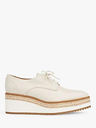 L.K.Bennett Pembridge Platform Wedge Leather Shoes