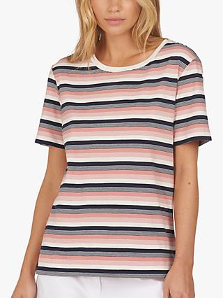 Barbour Folkestone Stripe Top, Cloud
