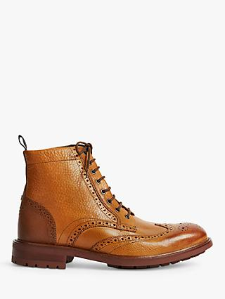 Ted Baker Baellen Leather Boots, Tan