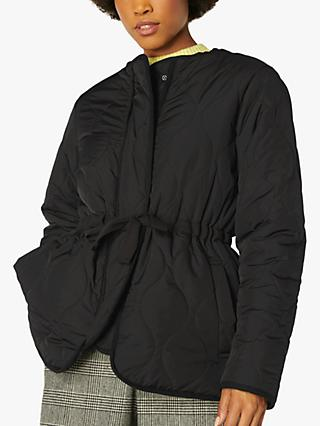L.K.Bennett Rowan Padded Jacket, Black