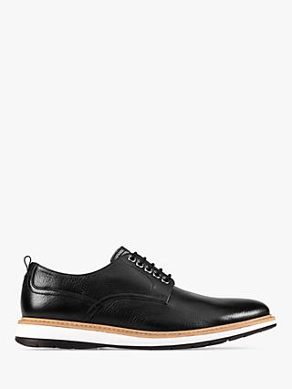 Clarks Chantry Walk Leather Shoes, Black