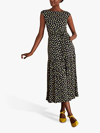 Boden Eda Jersey Dress, Citrus Fruit