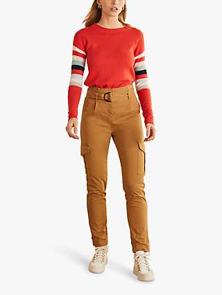 Boden Cargo Trousers, Camel