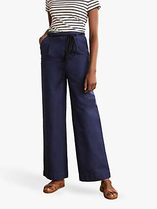 Boden Portree Trousers, Navy