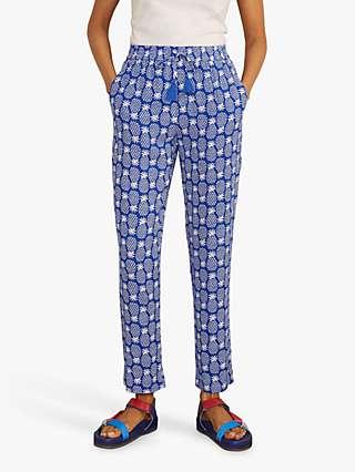 Boden Bembridge Trousers, Summit Pineapple