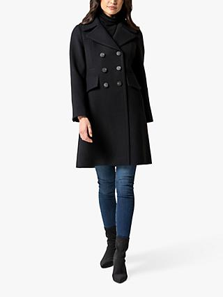 Forever New Alessandra Coat, Navy