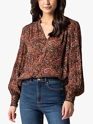 Forever New Ash Folk Paisley Boho Top