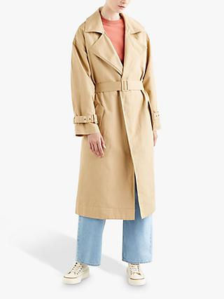 Levi's Miko Linen Cotton Trench Coat, Incense