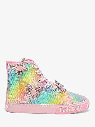 Lelli Kelly Children's Unicorn Wings High Top Trainers