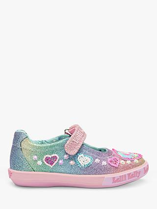 Lelli Kelly Children's Gem Unicorn Riptape Pumps