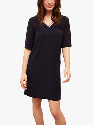Gerard Darel Sidony Crepe Mini Dress, Navy
