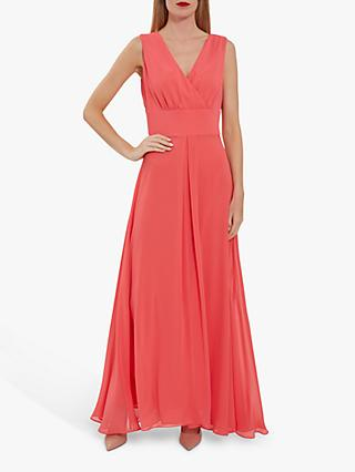 Gina Bacconi Christiana Chiffon Maxi Dress