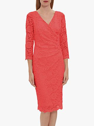 Gina Bacconi Clarinell Lace Midi Dress