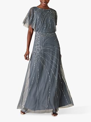 Monsoon Autumn Embellished Maxi Dress