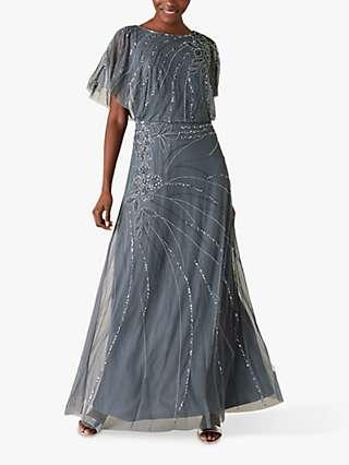 Monsoon Autumn Embellished Maxi Dress