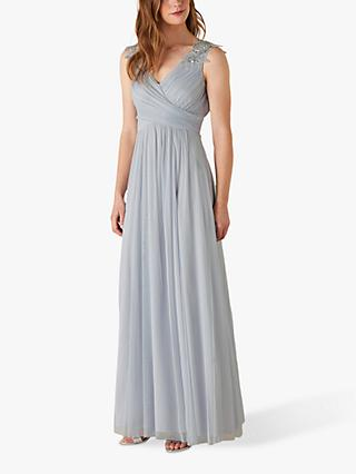 Monsoon Mischa Embellished Detail Maxi Dress
