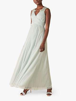 Monsoon Mischa Embellished Detail Maxi Dress
