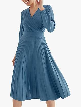 The Fold Belluno Dress, Light Blue