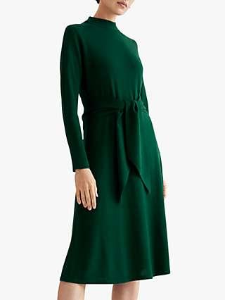 The Fold Allerton Merino Wool Dress, Green