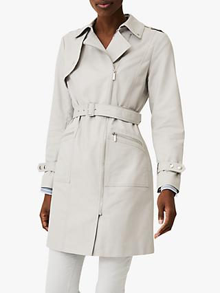 Phase Eight Lacey Trench Coat, Grey