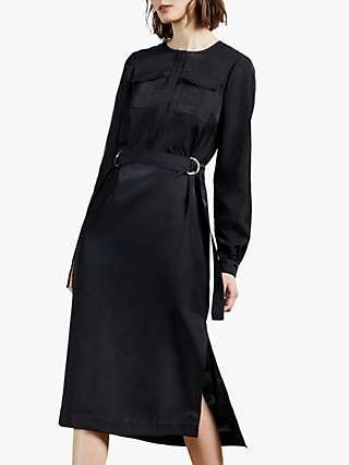 Ted Baker Aminna Midi Dress, Navy