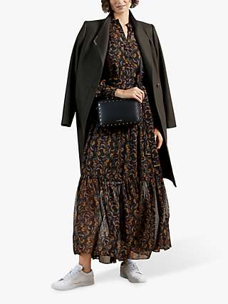 Ted Baker Lettii Floral Maxi Dress, Black