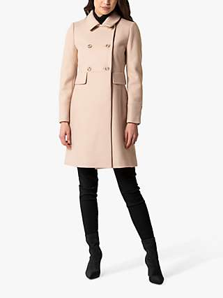 Forever New Sandy Dolly Coat, Soft Oatmeal