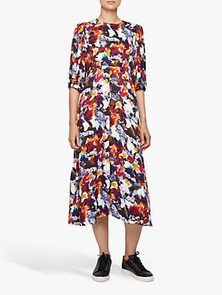 PS Paul Smith Floral Print Midi Dress, Multi