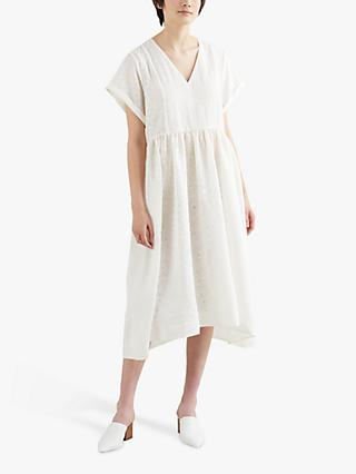 Levi's Marcel Hanky Hem Midi Dress, Cloud Dancer