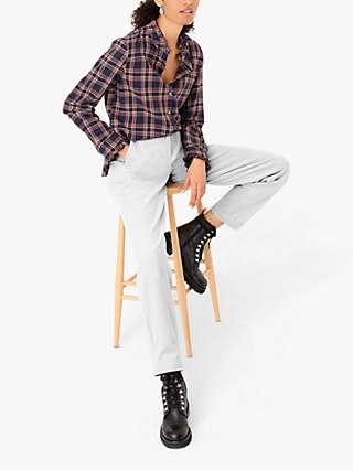 Brora Cord Slim Fit Trousers, Putty