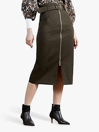 Ted Baker Stitch Skirt, Brown