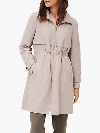 Phase Eight Sindy Soft Parka Coat, Pale Pink