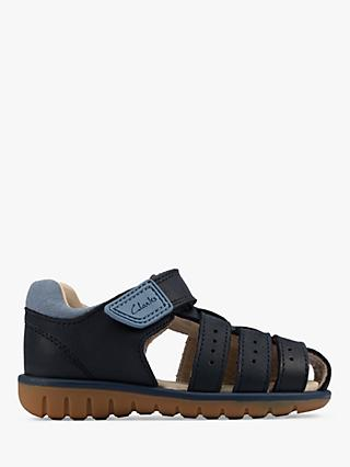 Clarks Junior Roam Bay Sandals
