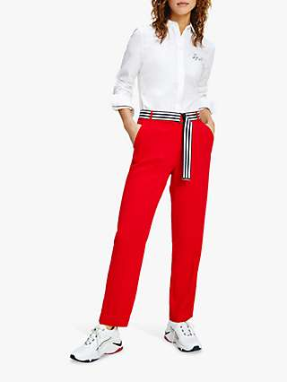 Tommy Hilfiger Tapered Ankle Trousers