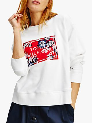 Tommy Hilfiger Relaxed Sweatshirt, White