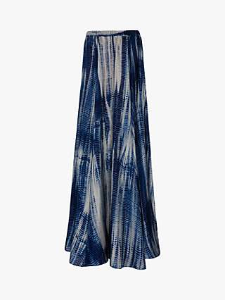Gerard Darel Latika Abstract Maxi Skirt
