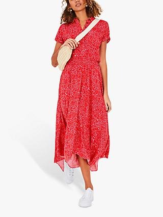 hush Short Kensington Dress, Pink/Red