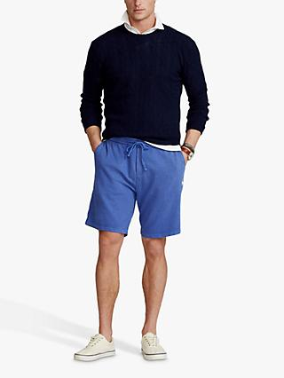 Polo Ralph Lauren French Terry Cotton Jersey Shorts