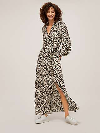 Somerset by Alice Temperley Powder Leopard Maxi Dress, Multi