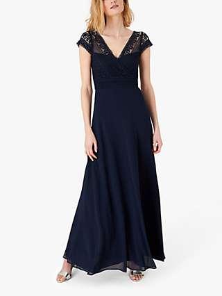 Monsoon Julie Lace Bodice Maxi Dress