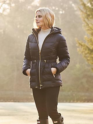 Sosandar Padded Coat, Black