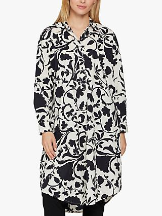 Masai Copenhagen Neva Floral Shirt Dress, Black