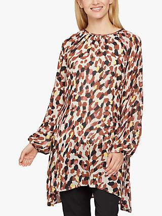 Masai Copenhagen Glory Animal Print Tunic, Multi