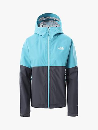 The North Face Diablo Dynamic Women's Waterproof Jacket, Maui Blue/Vanadis Grey