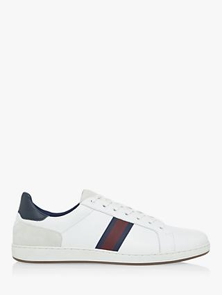Dune Terrace Leather Trainers, White