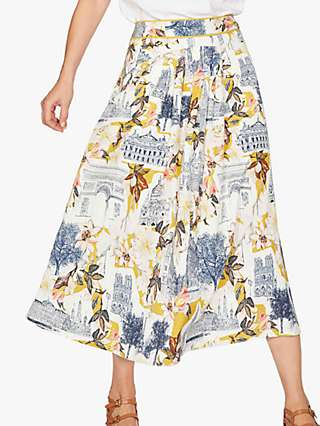 Thought El Audaz Midi Skirt, Lemon Yellow