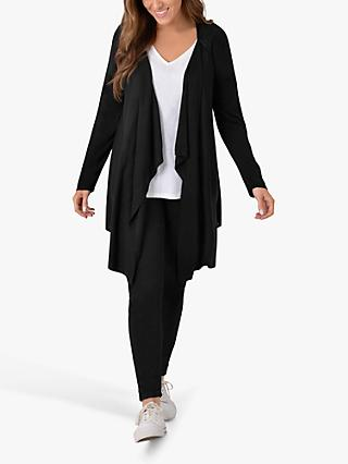 Live Unlimited Curve Fine Knit Cardigan, Black