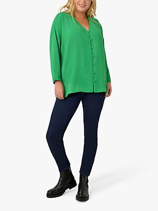 Live Unlimited Curve Button Top, Green