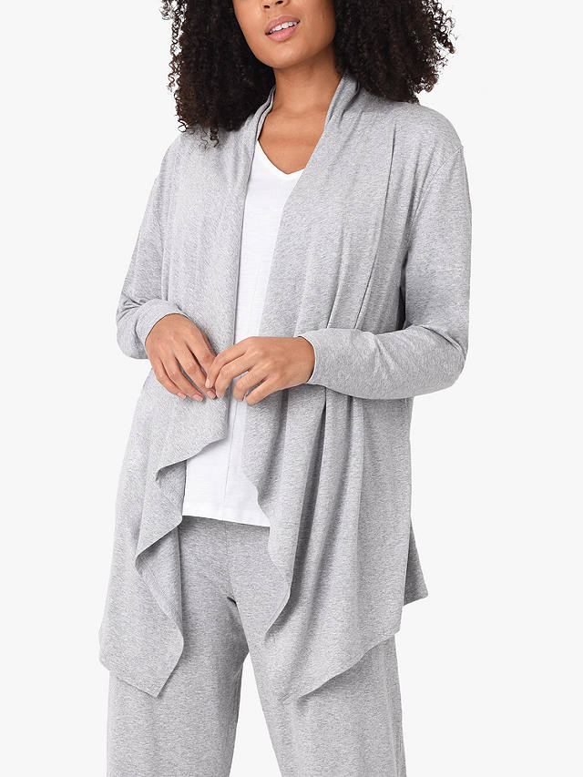 Buy Live Unlimited Curve Longline Cardigan, Grey Marl, 12 Online at johnlewis.com