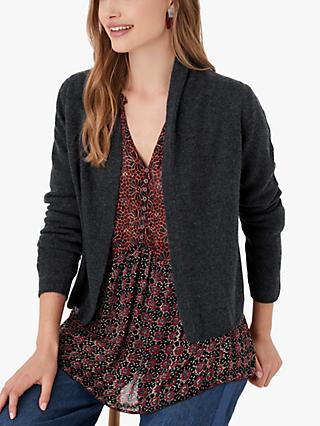 Brora Cashmere Open Neck Cardigan